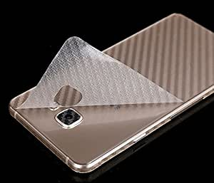 ikazen 3D Carbon Fiber Back Body Film Sticker Wrap Skin For Samsung Galaxy A510 / A5 2016 - Transparent