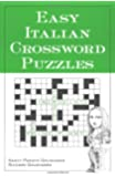 Easy Italian Crossword Puzzles