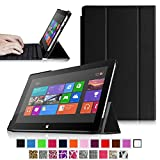 Fintie SlimShell Case for Microsoft Surface RT / Surface 2 10.6-Inch Tablet Ultra Slim Lightweight Stand Cover (Does Not Fit Windows 8 Pro Version) - Black