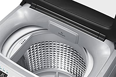 Samsung WA65H4300HA/TL Fully-automatic Top-loading Washing Machine (6.5 Kg, Light Grey and Sparkling Black)