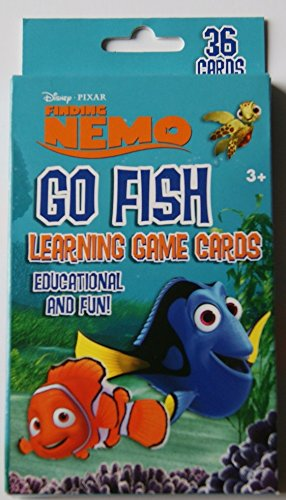 Finding Nemo Go Fish Learning Game Cards - 36 Cards - 1