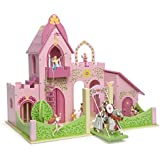 Wooden Pink Three Wishes Castle