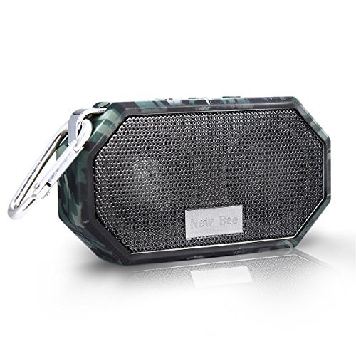 Review Of Portable Bluetooth Speakers, Hakey Wireless Outdoor & Shower IP66 Waterproof CRS 4.0 B...