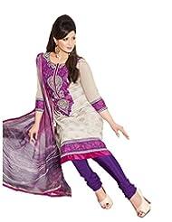 DivyaEmporio Women's Salwar Suit Dupatta Unstitched Dress Material (Free Size) - B00S7QADBU