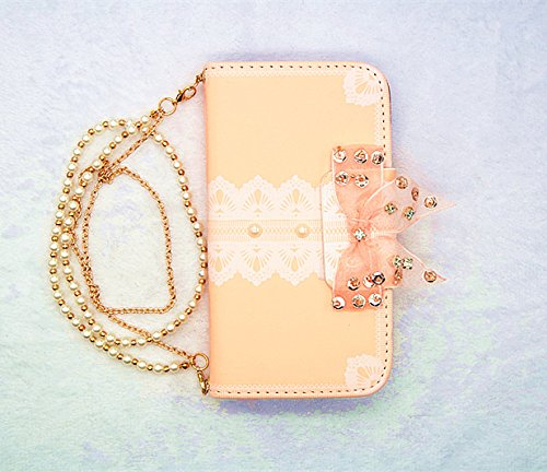 Luxury pearl bow bowknot Crystal handbag Magnetic bow wallet card flip leather case cover for Sony Xperia Z3v phone mpero flex flip wallet case for sony xperia z3v