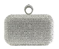 Scarleton Crystal Clutch Bag H322317…