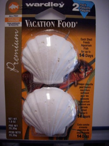 Wardley Valu Pack Vacation Fish Food, .5 oz