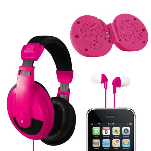 Vibe Sound Vs-771-Combo-Pnk Ultimate Audio Combo Kit - Pink