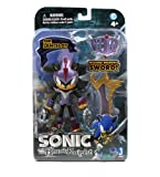 Sonic The Hedgehog 5-Inch Shadow Hedgehog Sir Lancelot Figure with Sword and Armour