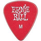 Ernie Ball Medium Red Picks, Bag of 144 (Color: Red, Tamaño: Medium)