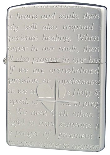 ZIPPO (Zippo) oil lighter NO200 lovers / Cross-message ALL silver 63060198