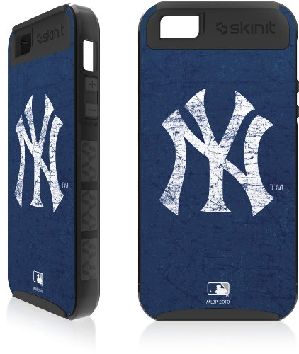 Great Price New York Yankees - Solid Distressed Apple iPhone 5 Cargo Case