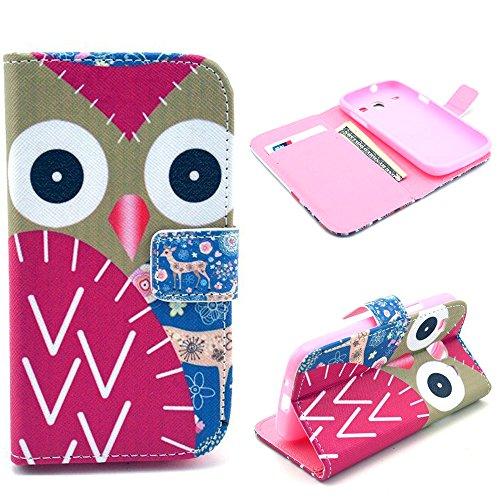 Samsung Galaxy Core Case, Samsung Galaxy Core (GT-i8260 / GT-i8262 Core Duos) - Wallet Flip Case Cover, Thinkcase PU Wallet Leather case cover for Samsung Galaxy Core I8260 I8262