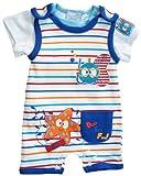 Baby Jungen Spieler + T-Shirt Sommer Strampler Gr. 68/74 (6/9M)