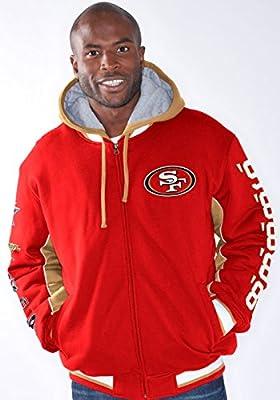 "San Francisco 49ers NFL ""Triumph"" Super Bowl Commemorative Detach Hooded Jacket"