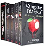 Vampire Diaries Books 1 to 7 (5 Books, 1 Hardback) Set Pack ( The Awakening + The Struggle, The Fury + The Reunion, Nightfall, Shadow Souls , The Return (hardback)) (The Vampire Diaries Collection)