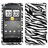 Design Hard Protector Skin Cover Cell Phone Case for HTC EVO Design 4G / Hero S Sprint,U.S. Cellular - Zebra