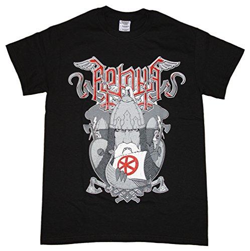 Arkona -  T-shirt - Collo a U  - Maniche corte  - Uomo nero XX-Large