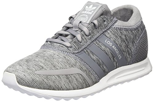 adidas damen los angeles sneakers grau light granite grey ftwr white 40 2 3 eu. Black Bedroom Furniture Sets. Home Design Ideas