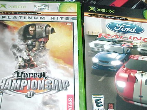 Ford Racing 2 , Unreal Championship : Xbox 2 Pack Collection (Unreal Championship 2 compare prices)