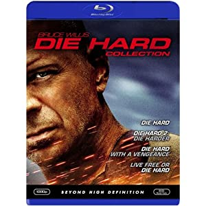 51mQj%2B9mR2L. SL500 AA300  Die Hard Collection On Blu ray (Complete Series)   $33 Shipped