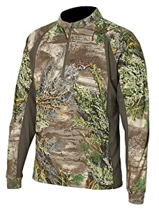 Scent-Lok Mens Attack 1 4 Zip Shirt by Scent-Lok