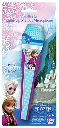 Disney Frozen Singing Light up Microphone - 1