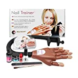 Mia Secret Professional Mechanical Hand Trainer W Acrylic Nail Set For Beginners or Student