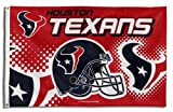 NFL Houston Texans 3-Foot-by-5-Foot Banner Flag