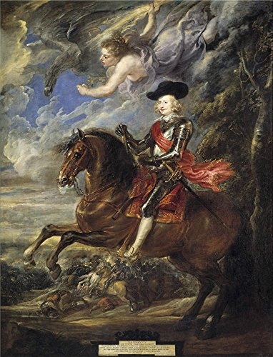 Oil Painting 'Rubens Peter Paul Cardinal Infante Fernando De Austria At The Battle Of Nordlingen 1635 40 ' Printing On Polyster Canvas , 20 X 26 Inch / 51 X 66 Cm ,the Best Powder Room Artwork And Home Artwork And Gifts Is This High Quality Art Decorative Prints On Canvas