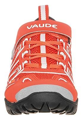 VAUDE Yara TR, Unisex-Erwachsene Radsportschuhe - Mountainbike, Orange (glowing red), 38 EU (5 Erwachsene UK)