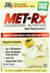 MET-Rx Meal Replacement powder boxed  Original Vanilla 18-Count