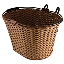 """Eleven81 Lift-Off Rattan Style Brown, 15.5 X 11 X 9.375"""""""