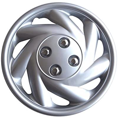 "Drive Accessories KT845-13SL-PC 13"" Plastic Wheel Cover, Silver Lacquer (Alloy Color), Single Piece"