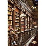 """Tablón de anuncios magnético """"Biblioteca"""" incl. 8 magnéticos con libros de vuelo"""