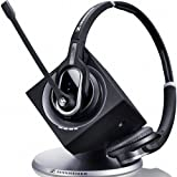 SENNHEISER 504309 DW Pro2 Double Sided DECT Headset with Base Station (UK)