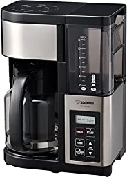 Zojirushi Fresh Brew Plus 12-Cup Coffee + iced coffee Maker, Stainless Black