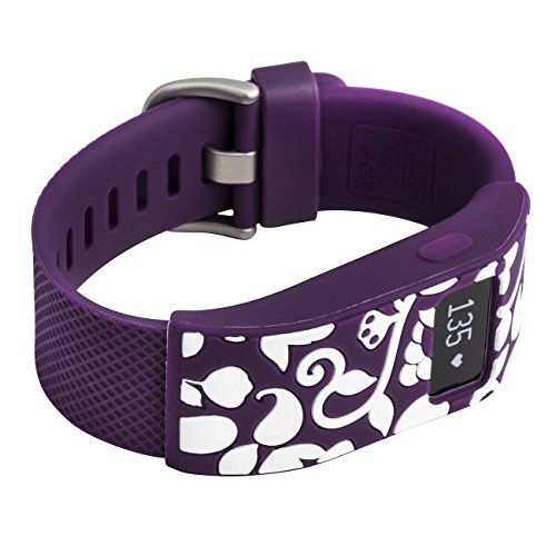 french-bull-fitbit-charge-fitbit-charge-hr-slim-designer-sleeve-band-cover-vines-plum-white