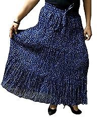 Cotton Breeze Womens Cotton Long Skirt (FP350)
