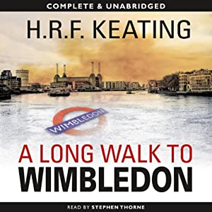 A Long Walk to Wimbledon | [H.R.F. Keating]