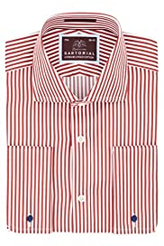 Pure Cotton Bengal Striped Shirt [T11-4391-S]