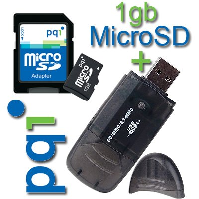 1GB 1 GB Memory Card for BLACKBERRY 8830 / 8800 / 8300 Curve PLUS FREE CAR READER/WRITER