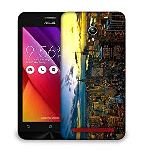 Snoogg New York By Night Designer Protective Back Case Cover For Asus Zenfone 6