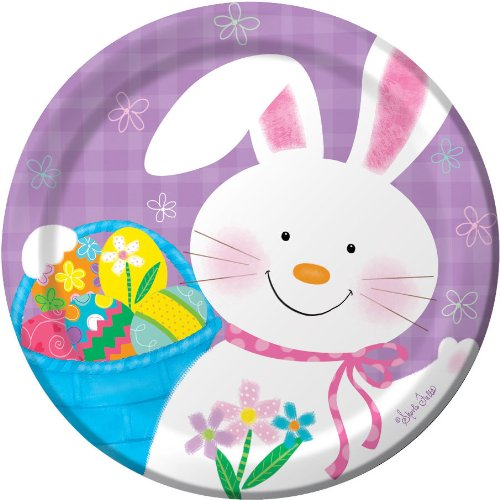 Bunny Juggle Dessert Plate (8)