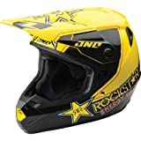 2014 One Industries Mens Atom Full Face Helmet Rockstar Yellow Medium