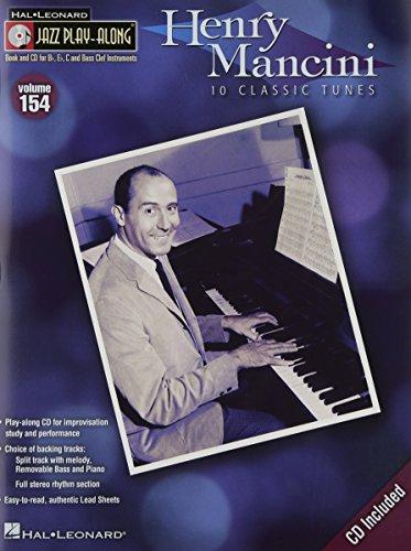 ジャズ・プレイ・アロング 第154巻: ヘンリー・マンシーニ(CD付)/ハル・レナード社/ピアノ・ソロ