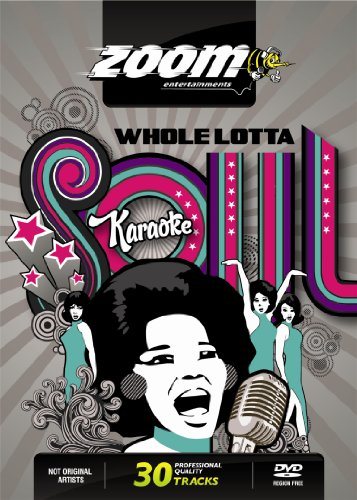 Zoom Karaoke DVD - Whole Lotta Soul (Female Songs) - 30 Songs