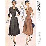 McCall 8318 Womes Dress Vintage Sewing Pattern Size 14 Bust 32