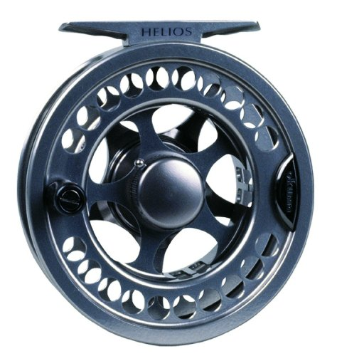 Okuma Helios Machined Aluminum Large Arbor Fly Reel, 150/20, Silver-Light