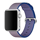 Apple Seguir Band, MIMO® New Release Sports Royal Woven Nylon Bracelet Strap Band for Apple Watch (38mm)